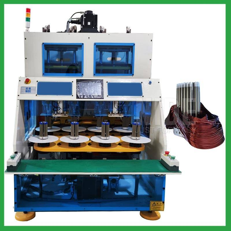 Automatic coil winding machine for induction motor stator coil winder Featured Image