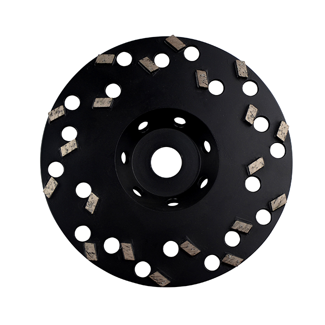 Diamond Cup Wheels (Brazed) 9