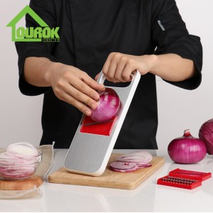 Manual stainless steel vegetable slicer shred for home use C321