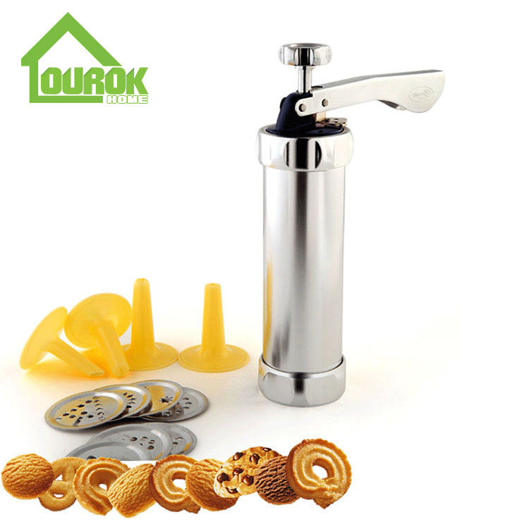 Manual Aluminum Cookie Press for DIY BQ-4 Featured Image