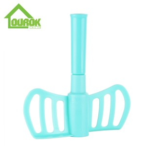 Plastic Hand Food Chopper and Slicer for Vegetable A008-2(Blue)