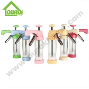 Plastic Manual Cookie Press for DIY CK101(YELLOW)