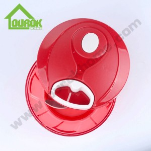 Hot selling plastic manual Mini food chopper for home use A008(Red)