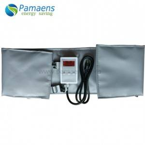 Heating pad for drums, tanks, containers, pipes