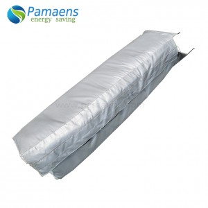 Factory Supplied Removable Fiberglass Steam Pipe Insulation Jacketing
