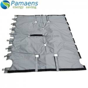 Customized Fiberglass Insulation Blanket for Drums, Tanks, Valves, Pipes, Flanges