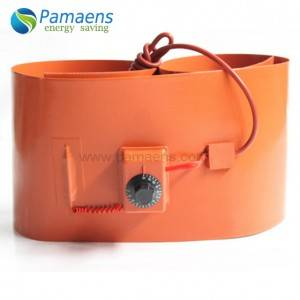 Silicone rubber heaters