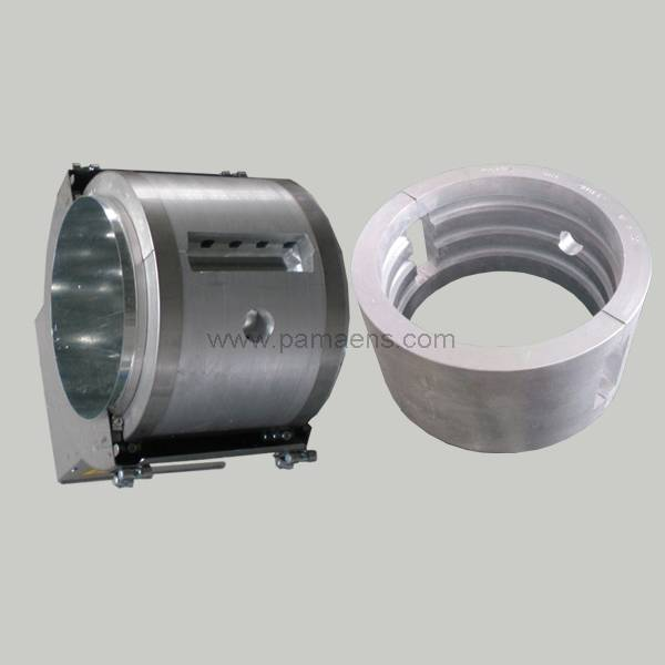 air cooling aluminum heater with internal fins
