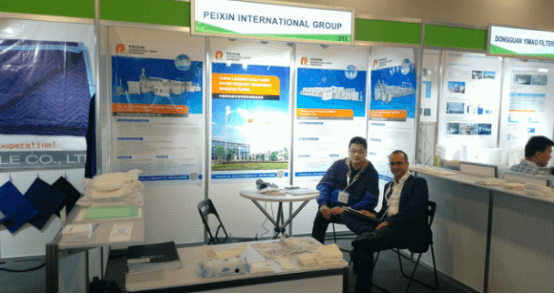 Peixin participated in the IDEA 2019 Non woven exhibition in Miami USA
