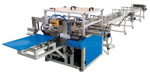 Wholesale Panty Liner Production Line - Full Automatic Toilet Paper Middle Bag Packaging Machine – Peixin