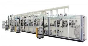 Full-servo Control Sanitary Napkin Production Line