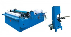 Reasonable price Nappies Manufacturing Machine - Series of Embossing Rewinding and Perforating Toilet Paper Machine – Peixin
