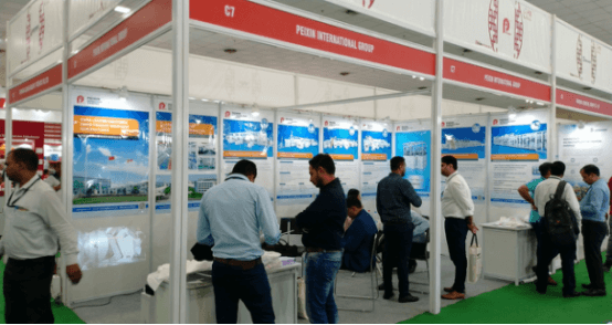 Peixin participated in the Non Woven Tech Asia 2019 in Delhi, India