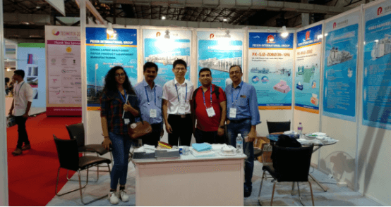 Peixin participated in the TECHNOTEX 2018 in Mumbai, India