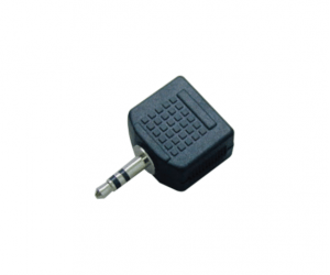 PH7-2511 A: 3.5MM STEREO PLUG TO 2×3.5MM MONO JACKS B: 3.5MM STEREO PLUG TO 2×3.5MM STEREO JACKS