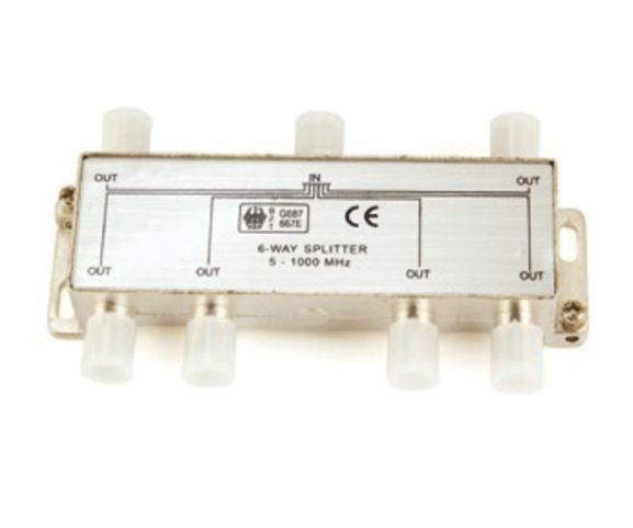 Factory Promotional PH7-3296 6-WAY SPLITTER  5-1000 MHZ Supply to Sri Lanka