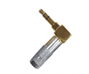 PH7-2021 3.5MM STEREO PLUG METAL,ANGLE TYPE