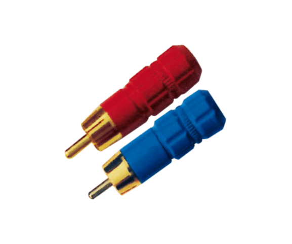 2017 New Style PH7-2226 RCA PLUG GOLD for Amman Importers