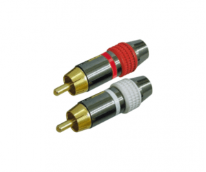 PH7-2228 RCA PLUG METAL GOLD PLATED
