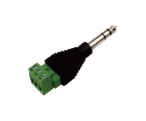 PH7-5279 6.35MM STEREO PLUG WITH TERMINAL