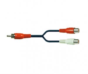 PH7-1013 RCA PLUG TO 2RCA JACKS