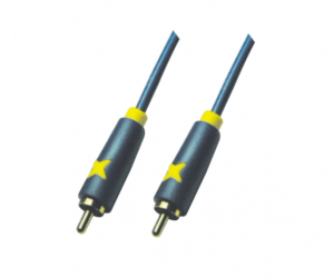 Factory For PH7-1133 DUAL COLOUR MOULDED  RCA PLUG TO  RCA PLUG to Liberia Factory