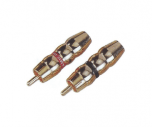 PH7-2258 RCA PHONE MALE PLUG  GOLD PIN PLATED