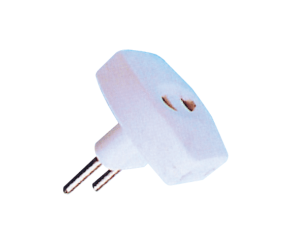 Cheapest Price  PH7-6057 2PIN AC CIRCLE PLUG TO  3 X 110/220V JACK to Las Vegas Manufacturers