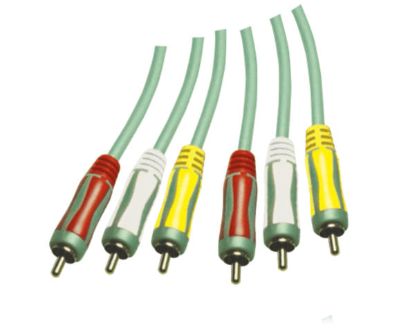 Rapid Delivery for PH7-1143 DUAL COLOUR MOULDED  3RCA PLUGS TO 3RCA PLUGS A/V  INTERCONNECT  CABLE to Germany Manufacturers