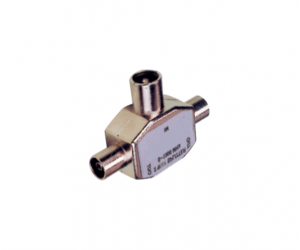 PH7-2910 9.5MM TV PLUG TO  2×9.5MM TV JACKS