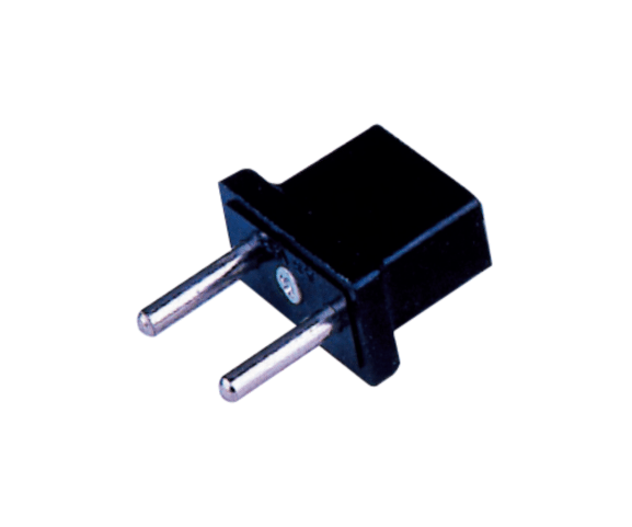 Hot-selling PH7-6094 2P ROUND AC PLUG TO  2P FLAT AC JACK to Greenland Factories