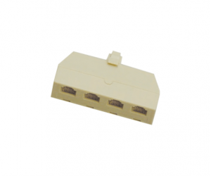 PH7-5034 A: 6P4C 4WAY SPLITTER B: 6P6C 4WAY SPLITTER