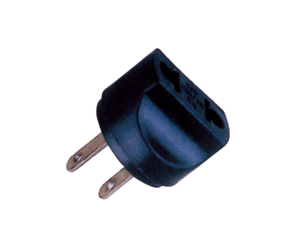 Europe style for PH7-6085 2P FLAT AC PLUG TO  2P AC JACK to Stuttgart Manufacturers