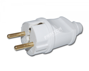 Power AC Plug Adapter EU Plug (pH3-1386)