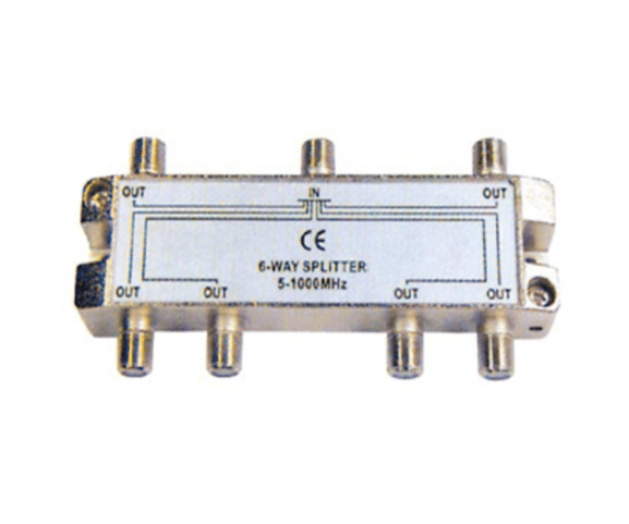 2017 New Style PH7-3306 6-WAY SPLITTER  5-1000MHZ for New Zealand Manufacturers