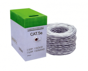 UTP CAT5e cable network