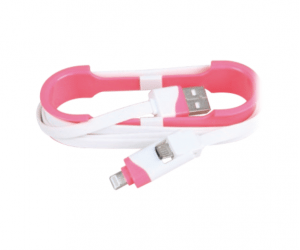 PH7-5142 USB A MALE TO MICRO USB B MALE + 8P FLAT CABLE