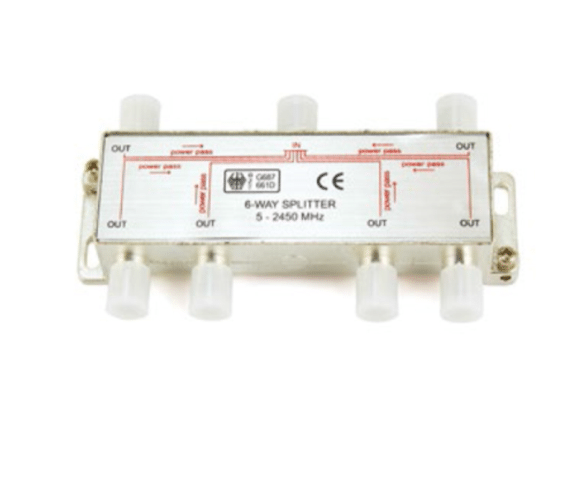Reliable Supplier PH7-3301 6-WAY SPLITTER  5-2450 MHZ for Mauritius Manufacturer