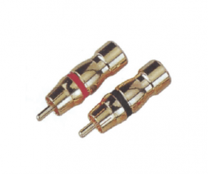 PH7-2260 RCA PHONE MALE PLUG GOLD PLATED