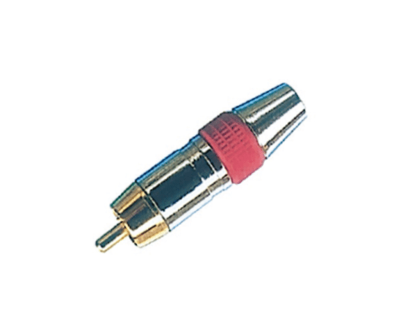 Factory making PH7-2205 RCA PLUG METAL GOLD PLATED OD6.5MM to Nairobi Factory