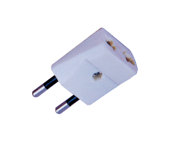 Top Suppliers PH7-6077 2P ROUND AC PLUG TO  2P AC JACK to Eindhoven Factory