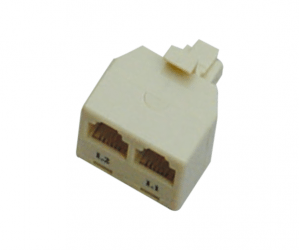 PH7-5015 RJ45 (8P8C) ADAPTER MALE NA FEMALE DUAL