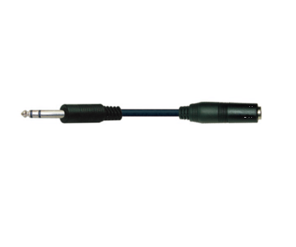 Best quality PH7-1169 6.35 STEREO PLUG TO  6.35 STERO JACK to Iraq Factory