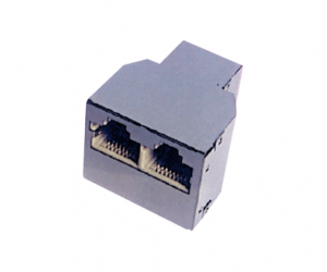 PH7-5014 RJ45(8P8C)ADAPTER FEMALE TO  DUAL FEMALE
