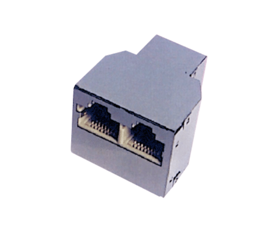 Super Lowest Price PH7-5014 RJ45(8P8C)ADAPTER FEMALE TO  DUAL FEMALE Wholesale to Jakarta
