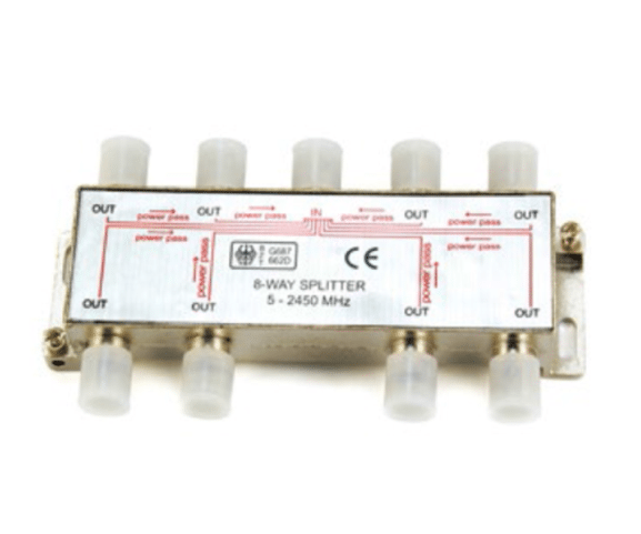 100% Original PH7-3302 8-WAY SPLITTER  5-2450 MHZ Supply to Melbourne