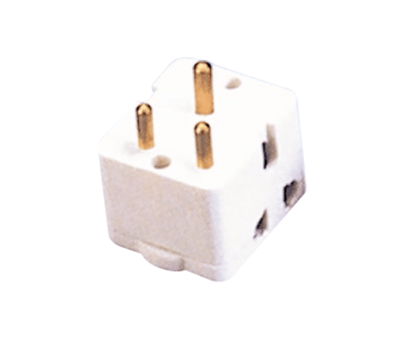 Factory Supply PH7-6118 power plug and socket for Barcelona Factories