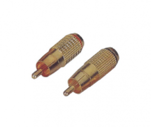 PH7-2283 RCA PHONE MALE PLUG GOLD PLATED