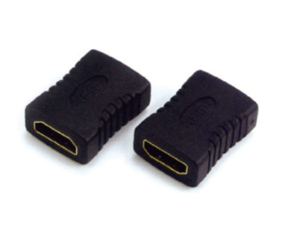 Factory Supply PH7-4076 HDMI FEMALE TO HDMI  FEMALE ADAPTOR G:GOLD  N:NICKLE to Nepal Factory