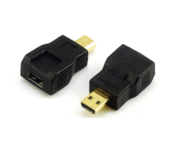 2017 Latest Design  PH7-4087 MICRO HDMI MALE TO  MICRO HDMI FEMALE ADAPTOR,  G:GOLD  N:NICKLE to San Francisco Importers